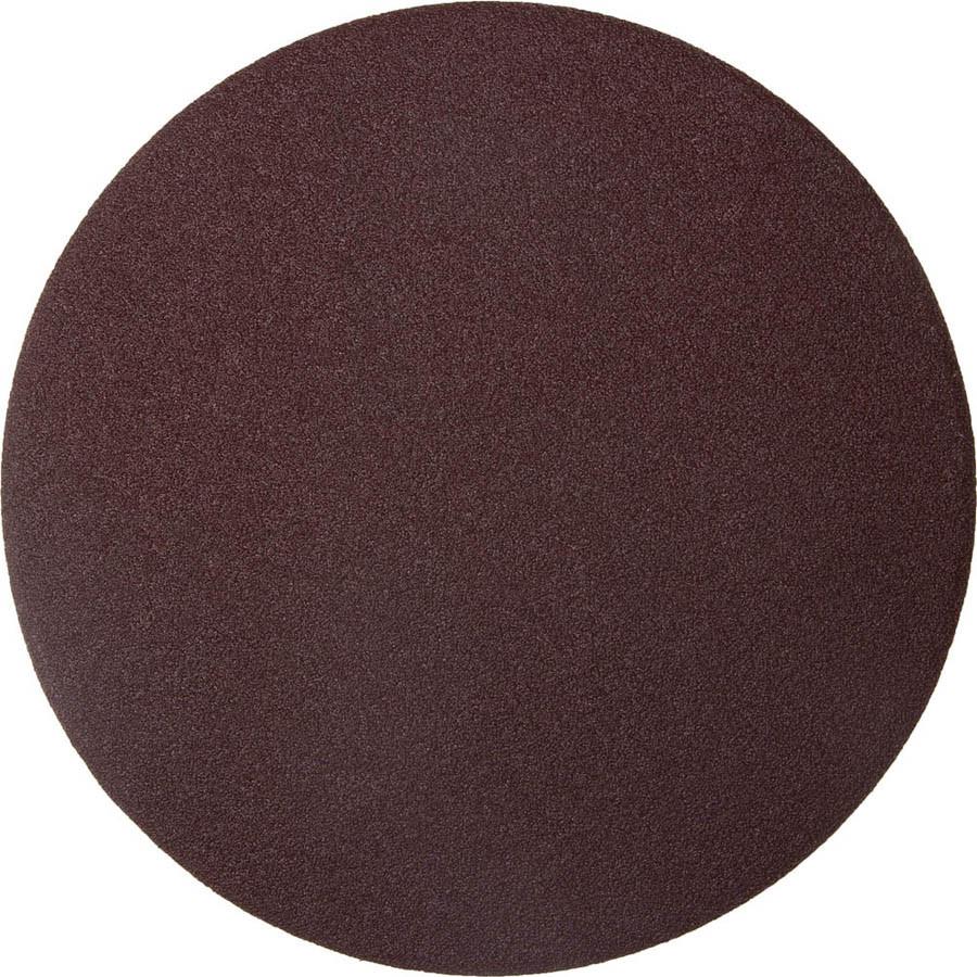 Круг шлифовальный ЗУБР без отв., Р100, 150 мм, 5 шт.,  из абразивной бумаги на велкро основе, (35568-150-100)