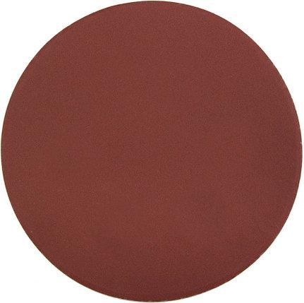 Круг шлифовальный ЗУБР без отв., Р320, 150 мм, 5 шт.,  из абразивной бумаги на велкро основе, (35568-150-320), фото 2