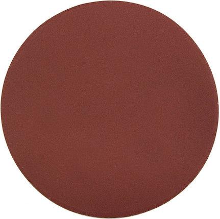 Круг шлифовальный ЗУБР без отв., Р600, 150 мм, 5 шт.,  из абразивной бумаги на велкро основе, (35568-150-600), фото 2