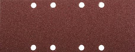 Лист шлифовальный ЗУБР 93 х 230 мм, P40, 5 шт., универсальный для ПШМ, 8 отверстий (35591-040), фото 2
