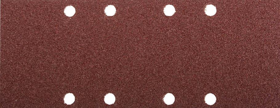 Лист шлифовальный ЗУБР 93 х 230 мм, P60, 5 шт., универсальный для ПШМ, 8 отверстий (35591-060), фото 2