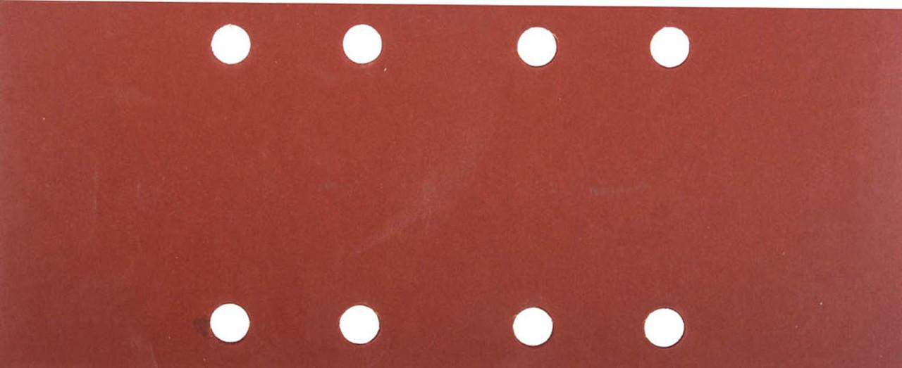Лист шлифовальный для ПШМ, ЗУБР 93 х 230 мм, P1000, 5 шт., универсальный, 8 отверстий по лини (35591-1000)