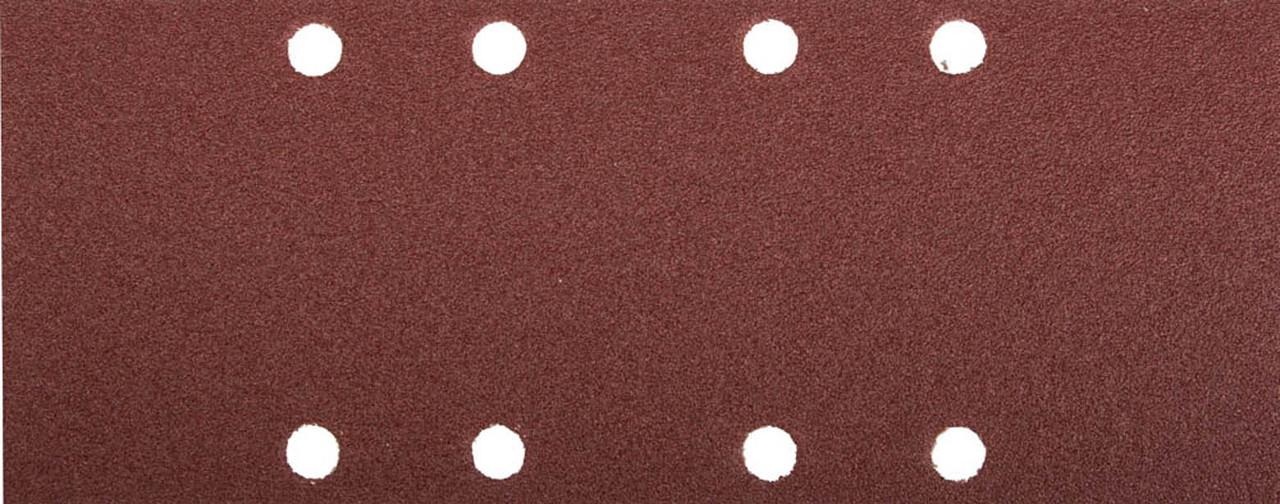 Лист шлифовальный ЗУБР 93 х 230 мм, P120, 5 шт., универсальный для ПШМ, 8 отверстий (35591-120)