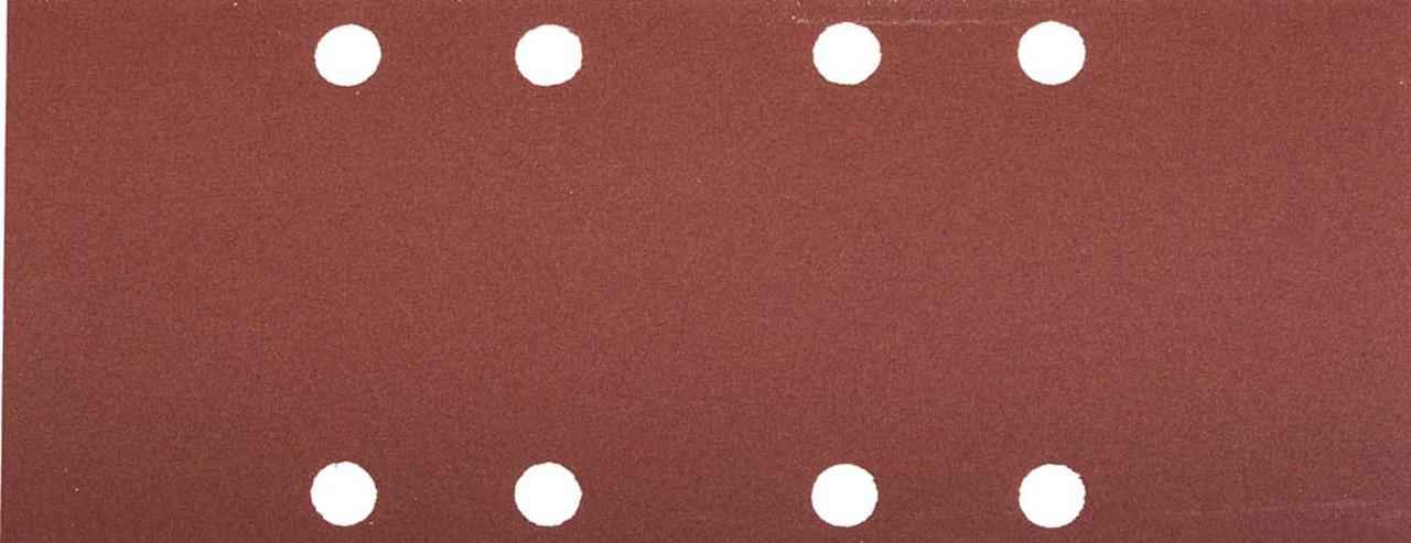 Лист шлифовальный ЗУБР 93 х 230 мм, P180, 5 шт., универсальный для ПШМ, 8 отверстий (35591-180)
