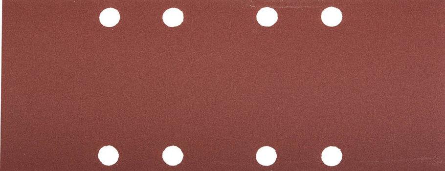 Лист шлифовальный ЗУБР 93 х 230 мм, P180, 5 шт., универсальный для ПШМ, 8 отверстий (35591-180), фото 2