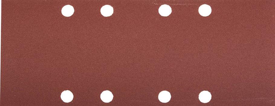 Лист шлифовальный ЗУБР 93 х 230 мм, P320, 5 шт., универсальный для ПШМ, 8 отверстий (35591-600), фото 2