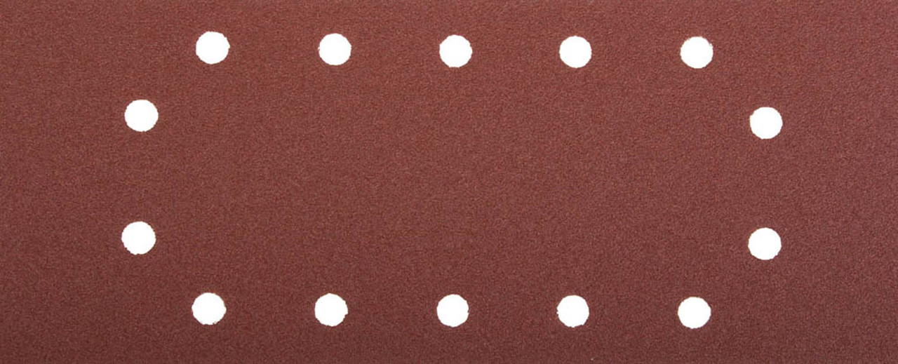 Лист шлифовальный ЗУБР 115 х 280 мм, P120, 5 шт., универсальный для ПШМ, 14 отверстий (35594-120)