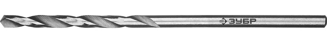 """Сверло по металлу ЗУБР Ø 1 x 34 мм, класс В, Р6М5, серия """"Профессионал"""" (29621-1)"""