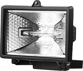 Прожектор галогенный STAYER 150 Вт, MAXLight, с дугой крепления под установку, черный (57101-B)