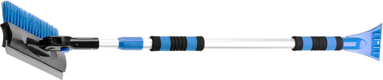 Щетка-сметка автомобильная для снега и льда ЗУБР 990 - 1460 мм, телескопическая, (61060-150)