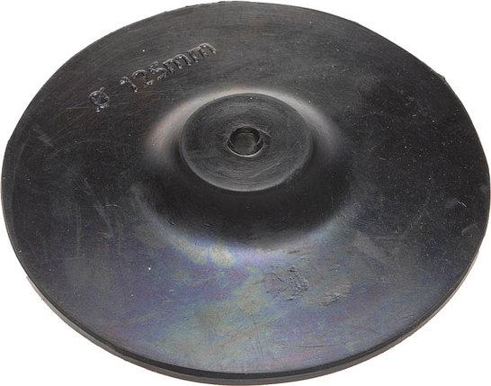 Тарелка опорная для дрели, ТЕВТОН d=125 мм, шестигранный хвостовик шестигранный хвостовик (3579-125), фото 2