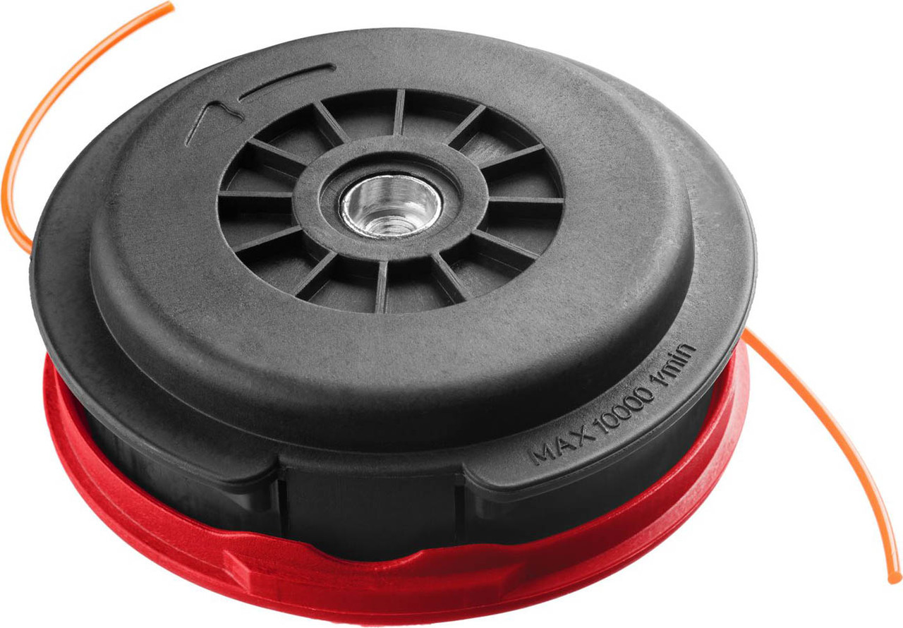 "Катушка для триммера ЗУБР макс. диаметр лески 2.5 мм, полуавтомат, леска ""круг"", для ЗКРБ-ххх (70112-2.5)"