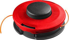 "Катушка для триммера ЗУБР макс. диаметр лески 2.5 мм, полуавтомат, леска ""круг"", для ЗКРБ-ххх (70112-2.5), фото 2"