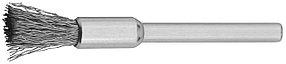 Щетка радиальная на шпильке ЗУБР 5.0 х 3.2 мм, L 42 мм, нержавеющая сталь (35932)