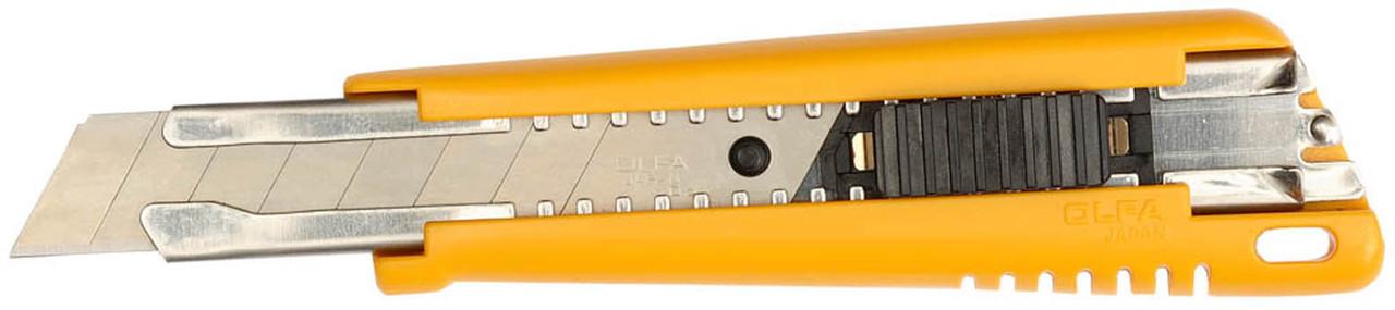 Нож с выдвижным лезвием OLFA 18 мм (OL-EXL)