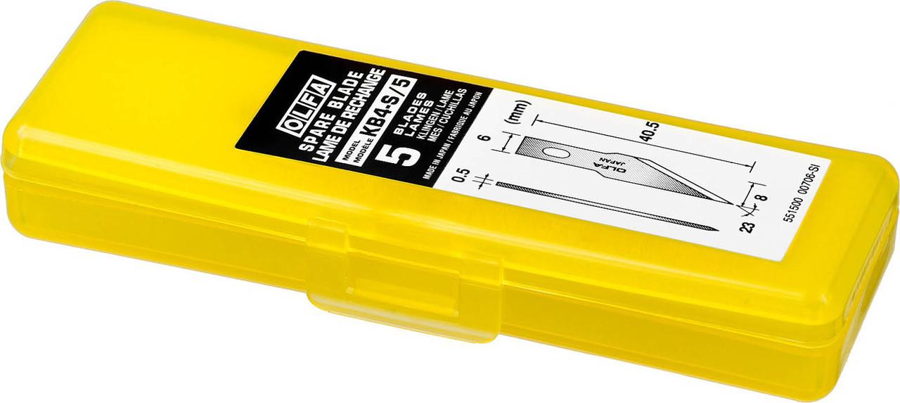 Лезвия перовые для ножа АК-4 OLFA 6 мм (OL-KB4-S/5)