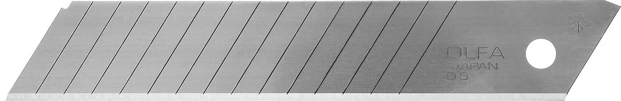 Лезвия сегментированные OLFA 18 мм, 10 шт. (OL-LBD-10)