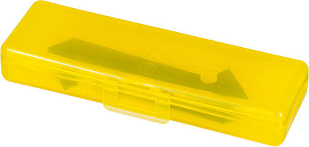 Лезвия двухсторонние для резака OLFA 3 шт., 61х13(16)х0,6 мм (OL-PB-800), фото 2