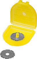 Лезвие круговое из нержавеющей стали для PRC-2, OLFA 18 мм, 2 шт. (OL-PRB18-2), фото 2