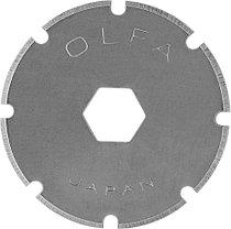 Лезвие круговое из нержавеющей стали для PRC-2, OLFA 18 мм, 2 шт. (OL-PRB18-2), фото 3