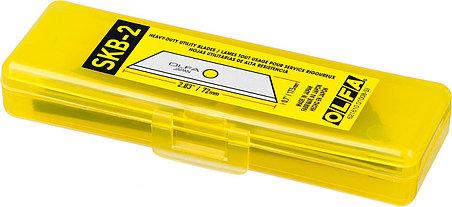 Лезвие трапециевидное для ножа OLFA 5 шт., 17.5х72х0.6 мм (OL-SKB-2/5B), фото 2