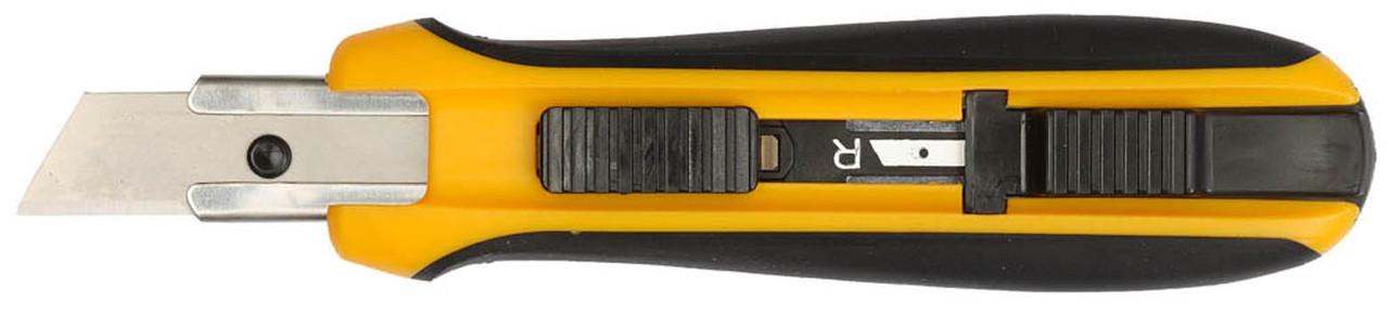 Нож OLFA 17.5 мм, трапециевидное лезвие, выдвижной, автофиксатор (OL-UTC-1)