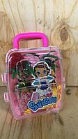 Кукла в чемодане ( без колес)