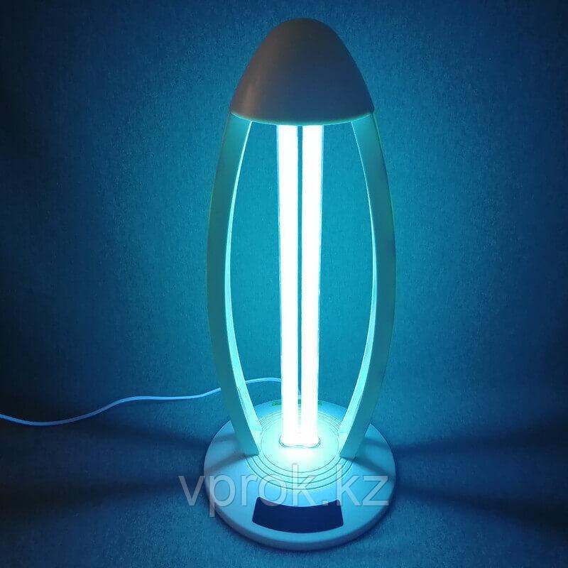 Бактерицидная ультрафиолетовая лампа (озонатор) с пультом ДУ и таймером работы MC-UV-38W - фото 1