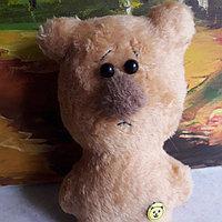 Мягкая игрушка ручной работы мишка ( собачка в ассортименте 16см )