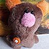 Мягкая игрушка ручной работы мишка ( собачка в ассортименте 16см ), фото 2