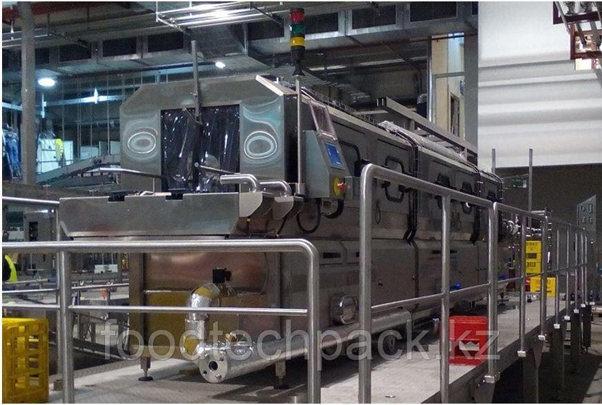 Машина для мойки ящиков с предварительной мойкой 4200 ШТ./ЧАС