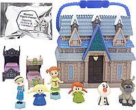 Мини домик Эльзы и Анны Холодное сердце Frozen с героями, фото 1