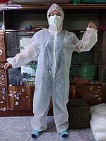 Одноразовый защитный комбинезон, фото 1