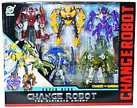 Changerobot: игровой набор из 5 роботов-трансформеров, в асс.
