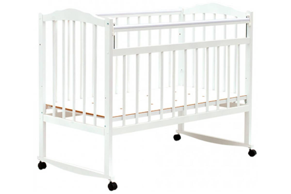 Кровать детская Bambini Классик M 01.10.09 Белый