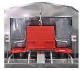 Машина для мойки контейнеров с крышками с обдувом 240 шт./час, фото 2