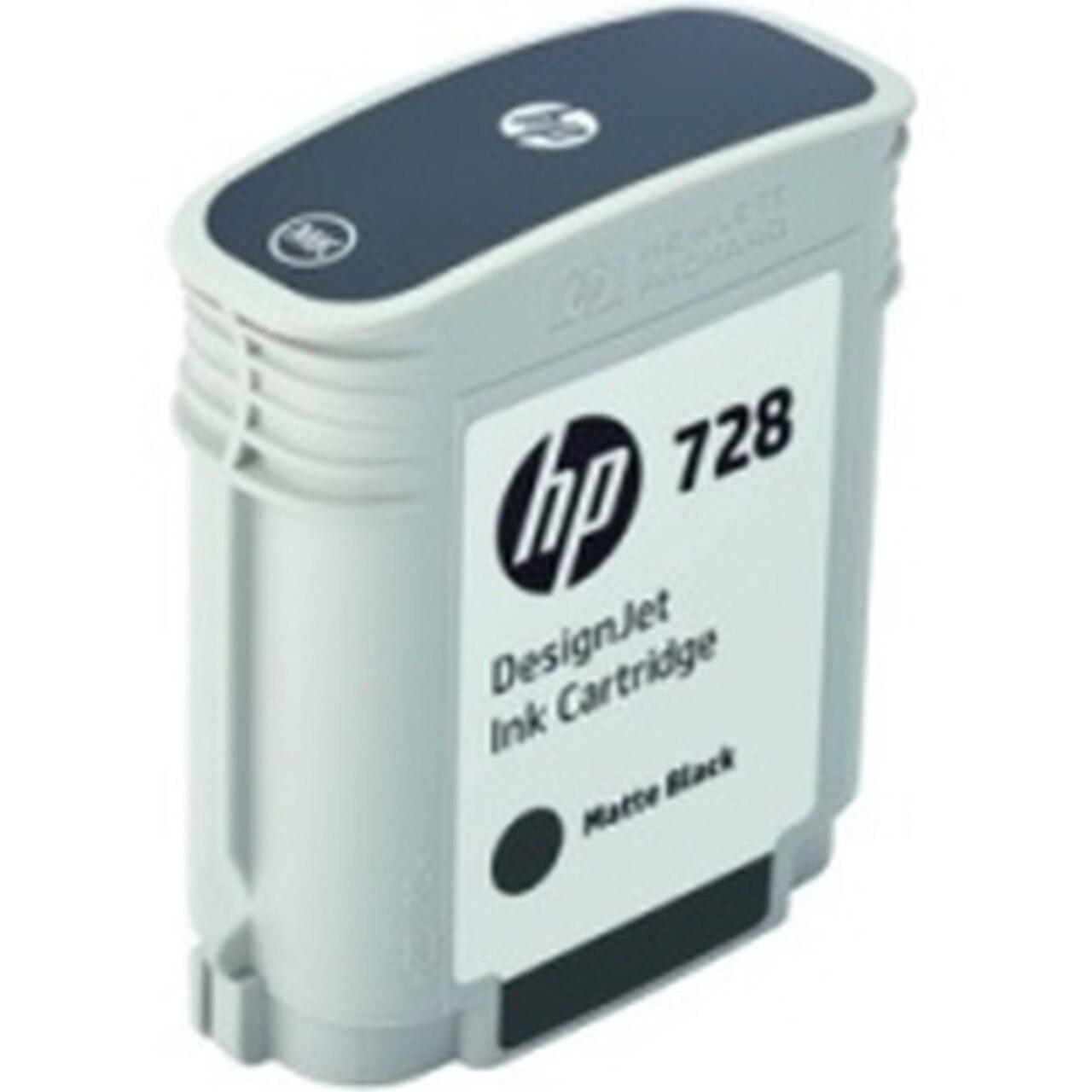 Картридж HP DesignJet 728 Matte Black (F9J64A)