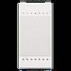 LivingLight Клавиша без символа 1 модуль белый (N4915N)