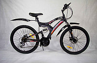 """Велосипед двухподвесный IZH-BIKE TARGET 24"""""""