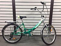 Складной велосипед Kespor FS 24-6 sp зеленый