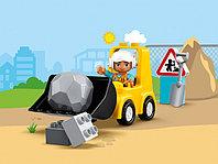 LEGO DUPLO 10930 Бульдозер, конструктор ЛЕГО