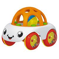 Машинка- погремушка Пончик