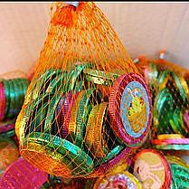 Шоколадные монетки в сетке в сетке 140 гр.