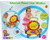 S918 Ходунок Musical piano lion walker с пианино и развивающей доской 39*45