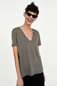 Zara  Женская футболка 04174153505029