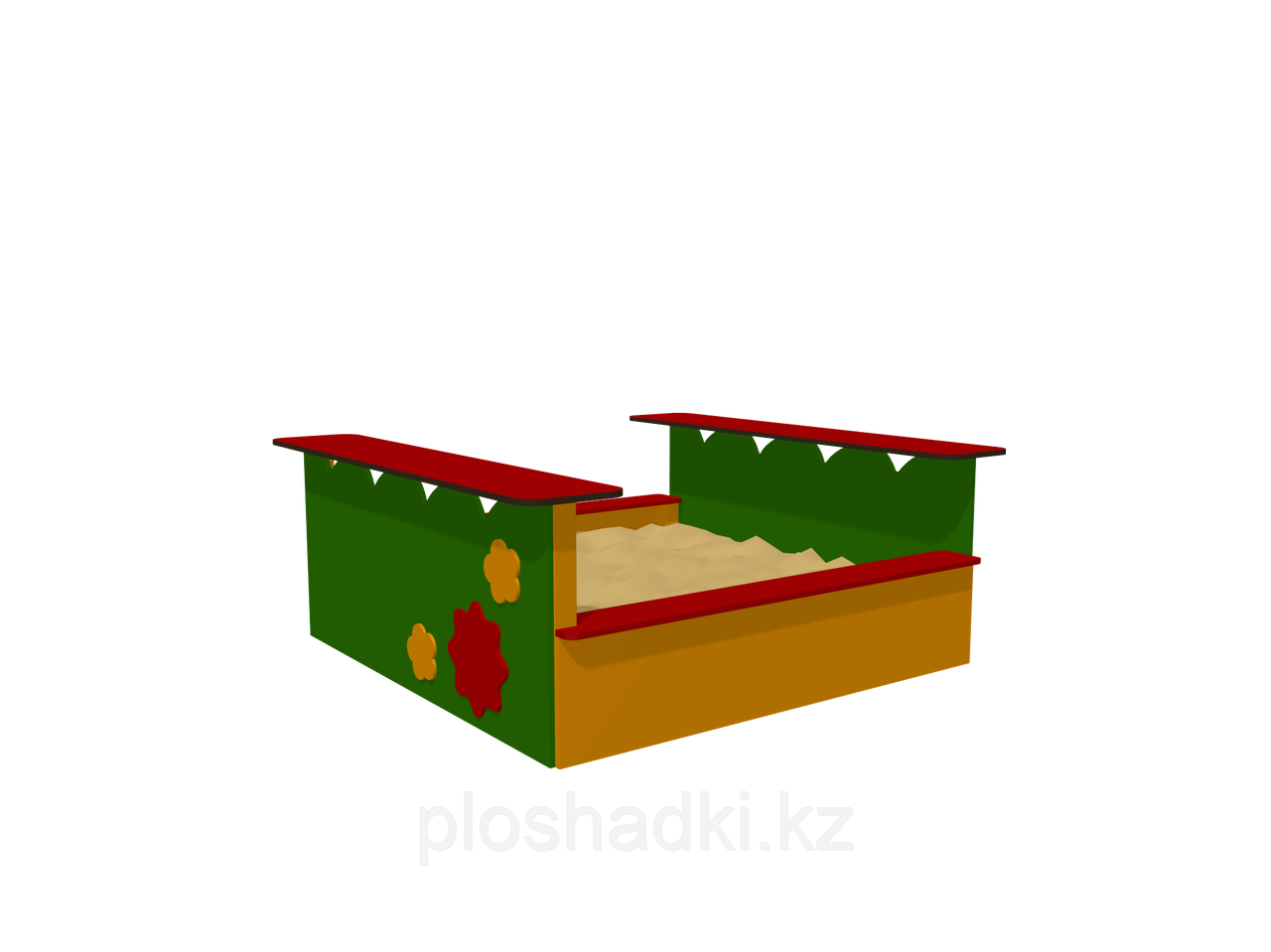 Песочница Romana, с сидениями
