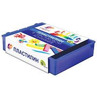 Пластилин Классика 10 цв. в пластмассовом контейнере
