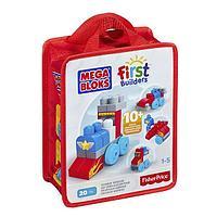 "Mega Bloks First Builders Конструктор Мега Блокс ""Веселые машинки"""