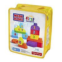 """Mega Bloks First Builders Конструктор Мега Блокс """"Учимся считать"""""""
