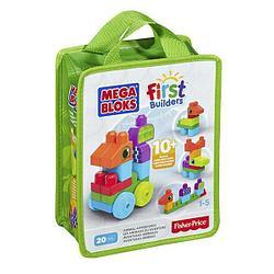 "Mega Bloks First Builders Конструктор Мега Блокс ""Животные"""